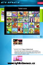 Superhry - Náhled www stránek www.superhry.cz